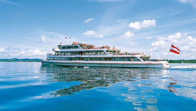 Schifffahrt auf dem Bodensee