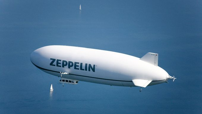 Flight with the Zeppelin