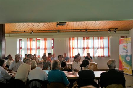 1st national village meeting in Dornbirn